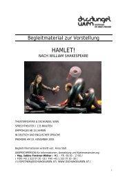 HAMLET! - Dschungel Wien