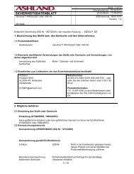 SICHERHEITSDATENBLATT - Webkat