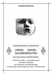 Deutscher Interdisziplinärer Arbeitskreis Lippen-Kiefer ...