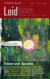 Leidfaden Heft 3/2013 - Vandenhoeck & Ruprecht