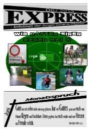 Express Juni - Junge Gemeinde Wittgensdorf