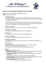 1. Fanclub der SG Flensburg-Handewitt - Fanclub die Wikinger