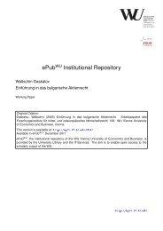 Download (1014Kb) - ePub WU - Wirtschaftsuniversität Wien
