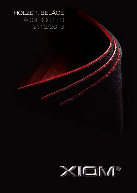 XIOM hardwear 2012:13-LOW - TT-Center Wiesbaden