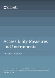 Accessibility Measures and Instruments - Accessibility Instruments