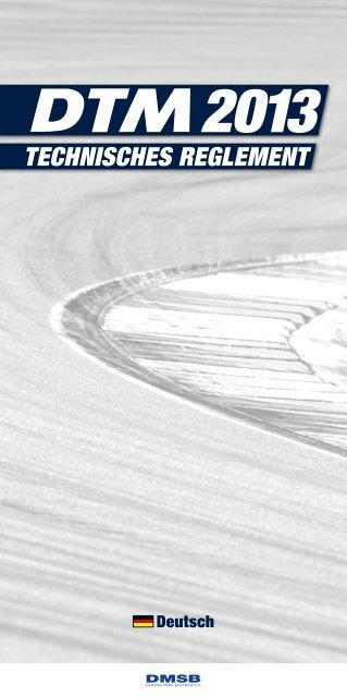 DTM Technisches Reglement - ADAC Motorsport