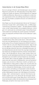 Industriemuseen Euregio Maas-Rhein - german - booklet / draft - Seite 2