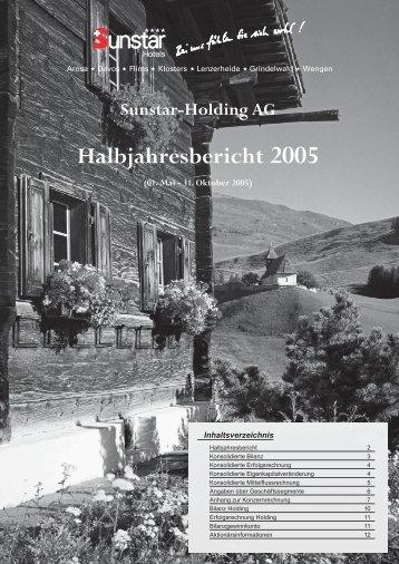 Halbjahresbericht 2005