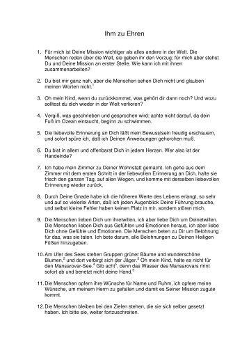 Ihm zu Ehren.pdf - Die Mission der allmächtigen Kraft