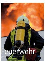 Jahresbericht 2007 der Feuerwehr Köln - Stadt Köln