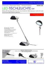 LED-TISCHLEUCHTE5W - Agentur Brogle