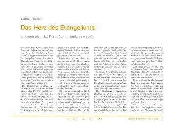 Das Herz des Evangeliums - TheoBlog