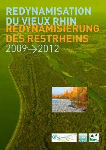 redynamisation du vieux rhin redynamisierung des ... - Région Alsace