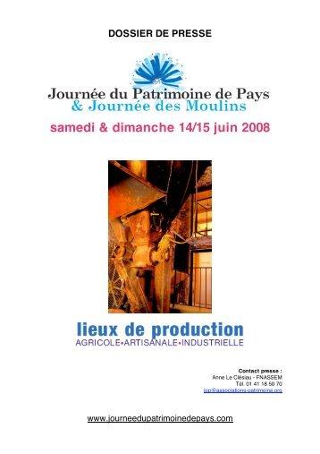 samedi & dimanche 14/15 juin 2008 - Sites Remarquables du Goût
