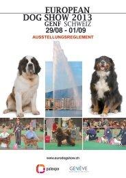 29/08 - 01/09 - European Dog Show 2013 / Geneva, Switzerland