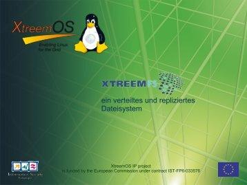 Das verteilte replizierte Dateisystem XtreemFS - Metrik