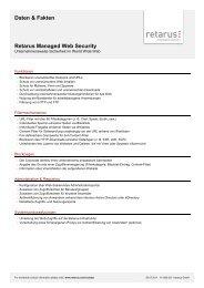 Daten & Fakten Retarus Managed Web Security - All-About ...
