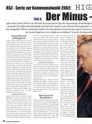 HARTL DER MINUS-MANN Serie zur Kommunalwahl Feb. 2002
