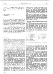 Arachne - eine Übersicht über die Entwick- lung und den ... - Lenzing