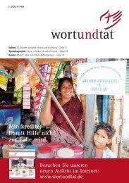 Minikredite: Damit Hilfe nicht zur Falle wird