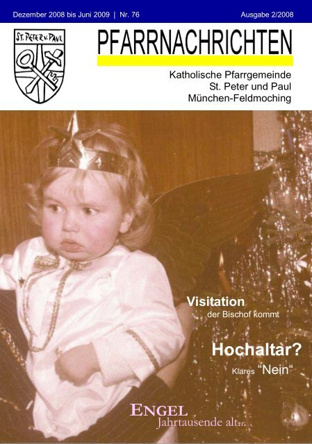 ++Pfarrnachrichten Nr. 76 von Dezember 2008 bis Juni 2009 - Kath ...