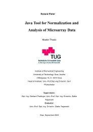Full Text - Institute for Genomics and Bioinformatics at Graz