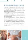 Darmkrebs und Darmkrebsvorsorge - Deutsches Grünes Kreuz e.V. ... - Seite 7
