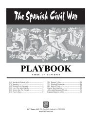 PLAYBOOK - GMT Games