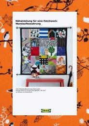 So nähst du dir eine Patchwork-Wandorganisation PDF - Ikea