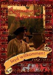 Flyer - Regensburger Rittermahl