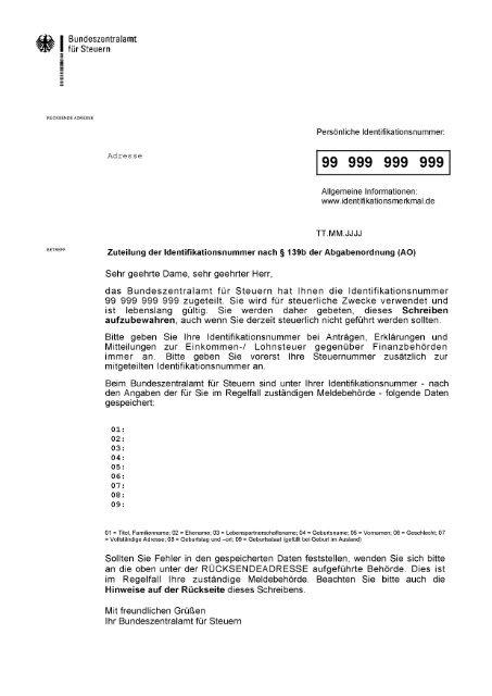 Muster Mitteilungsschreiben Deutsch Pdf 142 Kb Datei Ist