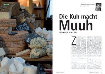 Der Kreislauf Käse - Gourmantis