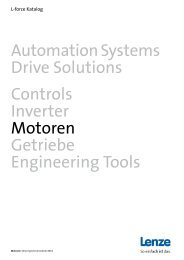 AutomationSystems Drive Solutions Controls Inverter Motoren ...