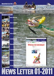 DCBeV-Newsletter 01-2011 downloaden... - DragonBoatClub