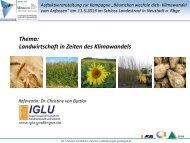 IGLU - KuK Klimawandel und Kommunen
