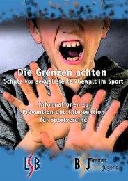 Bericht Schutz vor sexualisierter Gewalt im Sport - Bremer Sportjugend