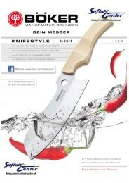 Böker Knifestyle Katalog 2011 - Softair-Center KG