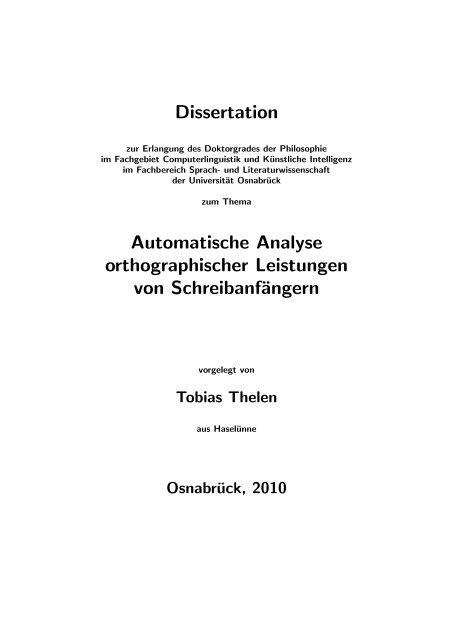 dissertationen osnabrck