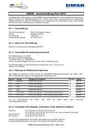 Ausschreibung Ampfing - ADAC Motorsport