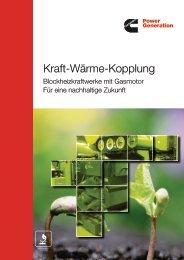 Kraft-Wärme-Kopplung - Cummins Inc.