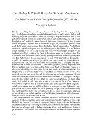 Der Umbruch 1798–1831 aus der Sicht der «Verlierer»: - Berner ...