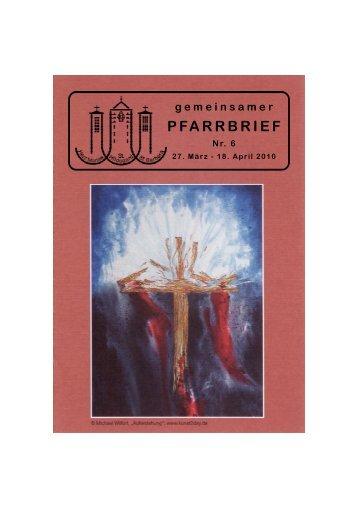 Pfarrbrief Nr. 6/2010 - Katholische Pfarrei St. Hildegard