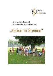Auswertung 2010 - Bremer Sportjugend