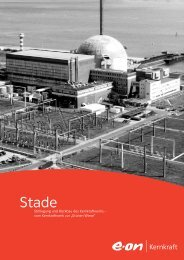 Rückbau des Kernkraftwerkes Stade - E.ON AG