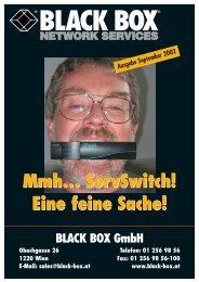 Mailing September 2002 (PDF-Format) - servswitch