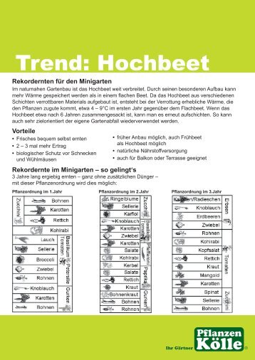 Trend: Hochbeet