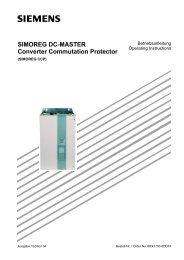 SIMOREG CCP deutsch - Siemens