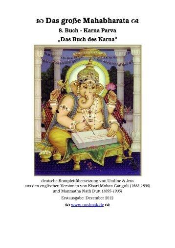 PDF 0.8MB - Das Mahabharata - Pushpak
