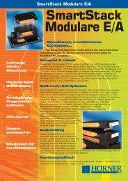 Flyer SmartStack I/O (pdf) - Stamm Industrieprodukte AG