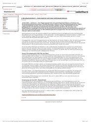 Medienmitteilungen Juni 2003 - Bbaktuell